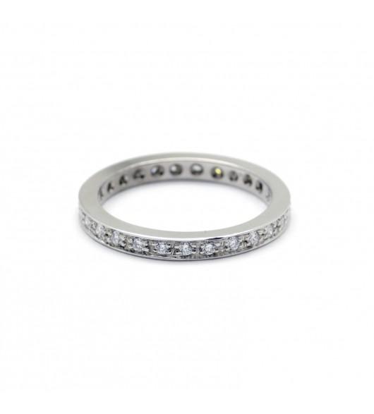 Alliance - 0,81 carat de diamants