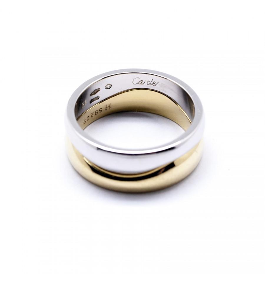 Bijoux doccasion > Bagues > Double anneau Cartier