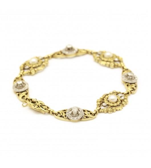 Bracelet fin XIXe