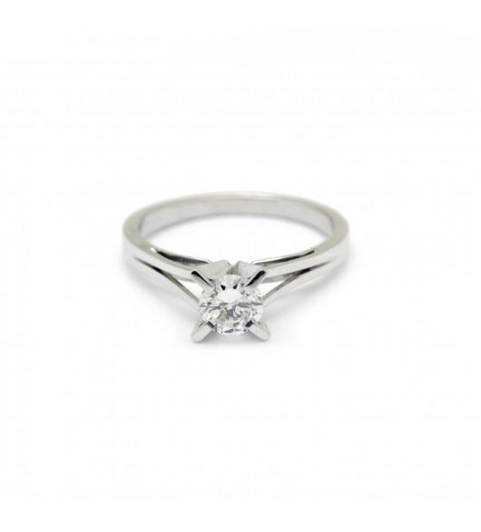 Solitaire - Diamant de 0,48 carat