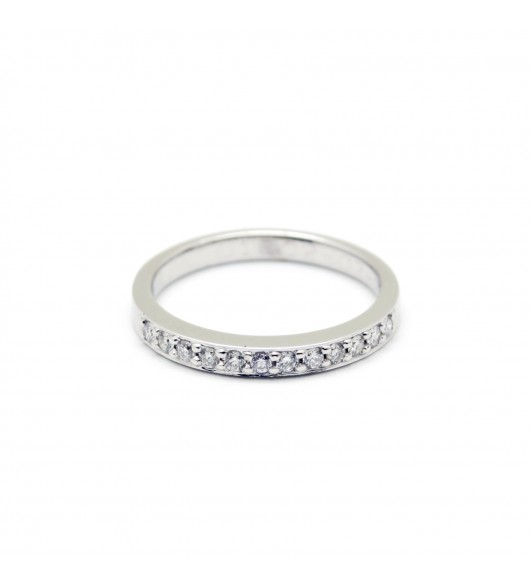 Demi-Alliance - 0,20 carat de diamants