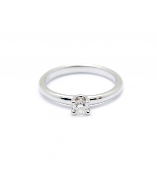 Solitaire - Diamant de 0,18 carat environ