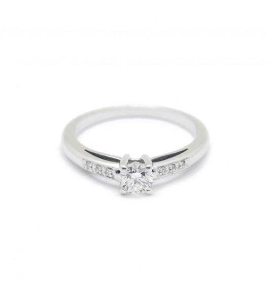 Solitaire - Diamant de 0,25 carat environ