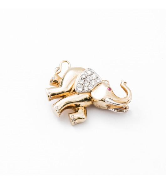 Broche Eléphant