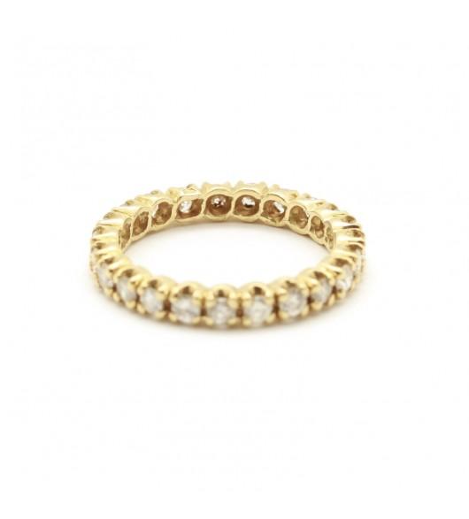 Alliance - 0,92 carat de diamants