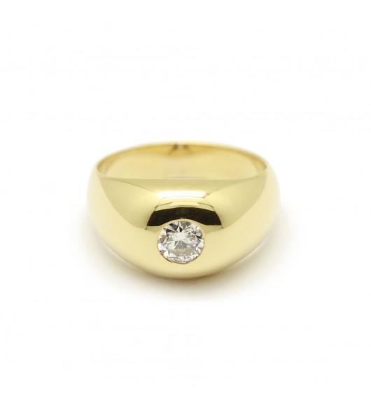 Bague diamant 0,20 carat