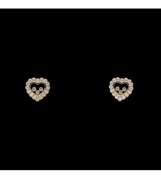 """Boucles d'oreilles """"Happy Diamonds"""" de CHOPARD"""