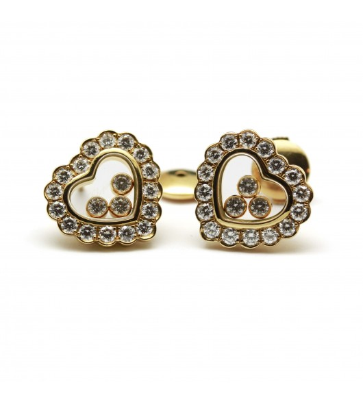 "Boucles d'oreilles ""Happy Diamonds"" de CHOPARD"
