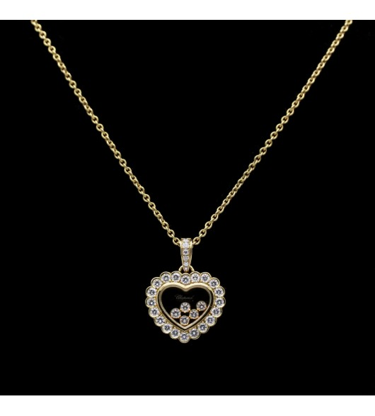 "Collier ""Happy Diamonds"" de CHOPARD"