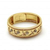 Bracelet jonc fin XIX