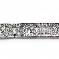 Bracelet art-déco de l'orfèvre Victor Pizzetti