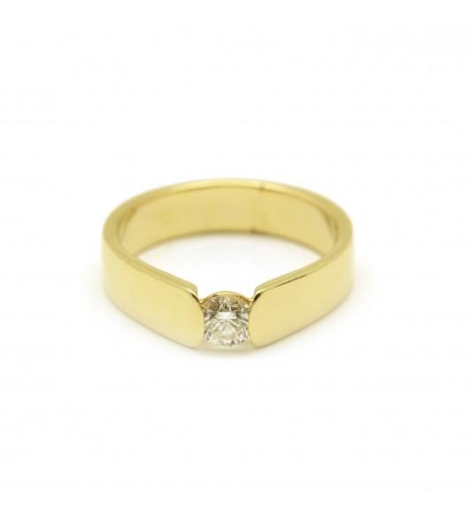 Solitaire - Diamant de 0,35 carat