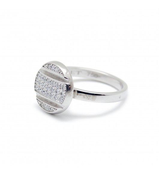 Bague Chaumet Or - diamants