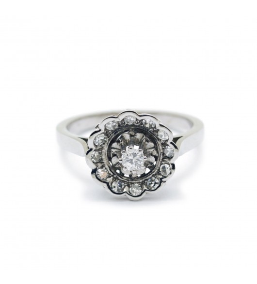 Bague Or - diamants