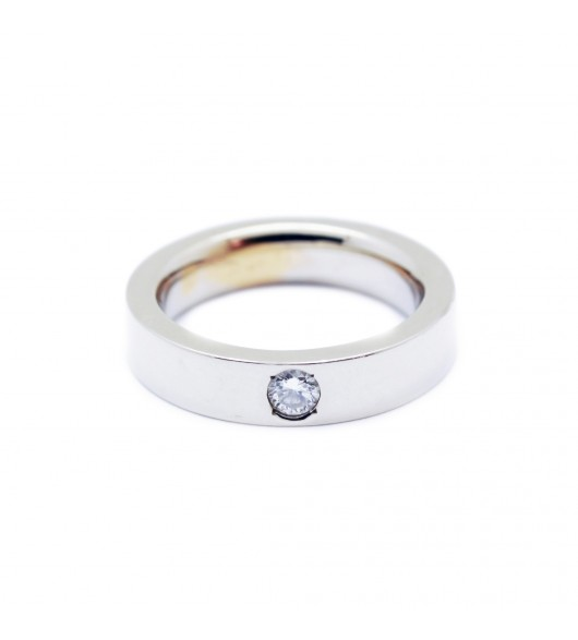 Solitaire - Diamant de 0,14 carat