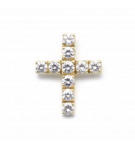 Croix - Or et diamants