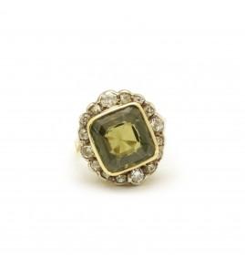 Bague début XXème - Or et diamants