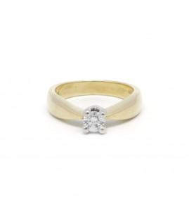 Solitaire - Diamant de 0,30 carat